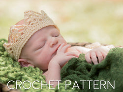 Crown Crochet Pattern - Boy Crown