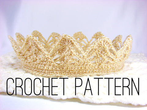 Crown Crochet Pattern Boy Crown By The Lillie Pad