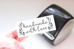 Handmade with Love - Ready-to-Print Dymo compatible Label Designs - Long Design