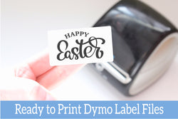 Happy Easter - Ready-to-Print Dymo Compatible Label Designs