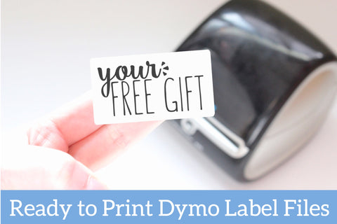 FREEBIE!!! Your Free Gift - Ready-to-Print Label Designs for the Dymo Printer