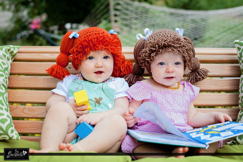 Cabbage Patch Kid Hat Crochet Pattern by The Lillie Pad