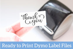 You Rock - Ready-to-Print Dymo compatible Label Designs