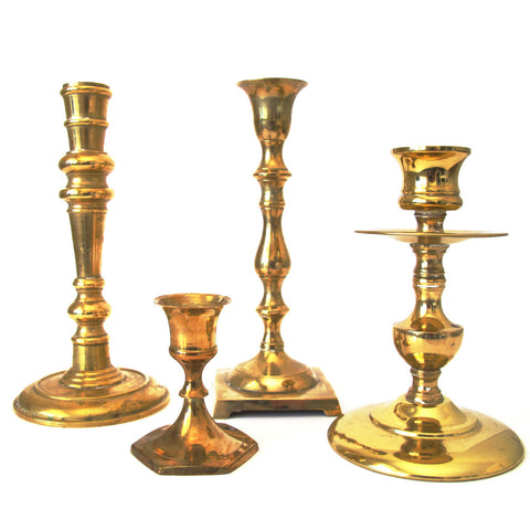 Brass Candleholders - Assorted