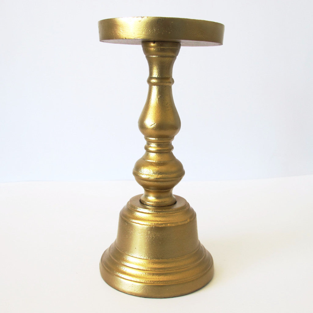 Gold Candleholder - Small