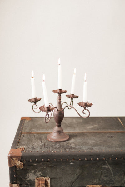 Brown Candleabra