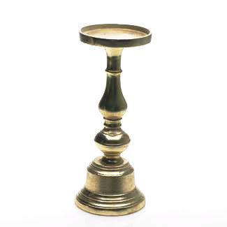 Gold Candleholder - Medium