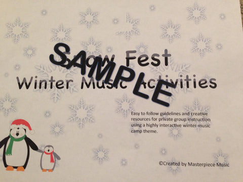 Snow Fest Winter Camp Manual