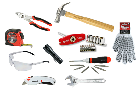 www.proferred.tools offering holiday special 10 piece tool set