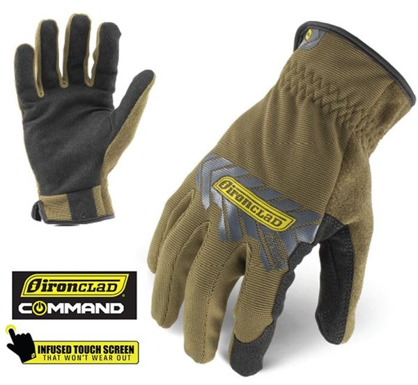 IRON CLAD COMMAND SERIES GLOVES NOW AVAILABLE AT WWW.PROFERRED.TOOLS