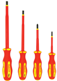 Insulated [1000V] Screwdriver Set - 4 pc.