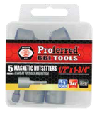 Magnetic Nutsetters - 5 pack