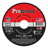 Abrasive Cut-Off and Chop Saw Wheels