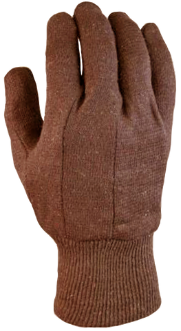 Brown Jersey Glove (10 pk)