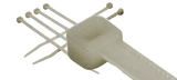 Cable Ties - Natural White (500 PER PACK)