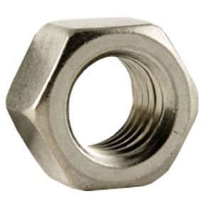 Hex Nut, Finished - Marine Grade 316 Stainless Steel