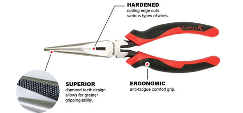 Long Nose Pliers