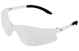 Safety Glasses (Bifocal Clear Lens) with Anti-UVA & UVB and ScratchCoat® Protection