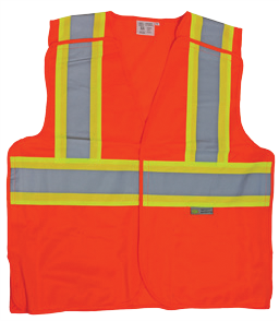 Safety Vest - Reflective, ANSI Class 2
