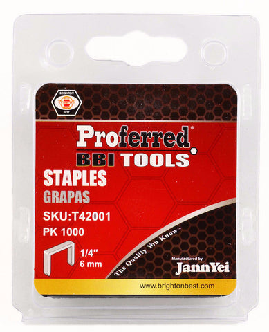 Staples - Pack of 1000
