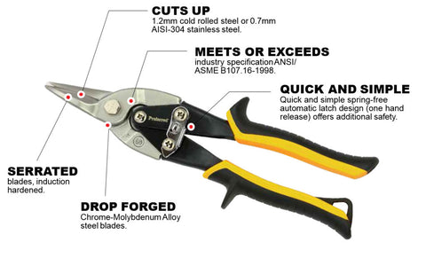Straight Cut Aviation Snips