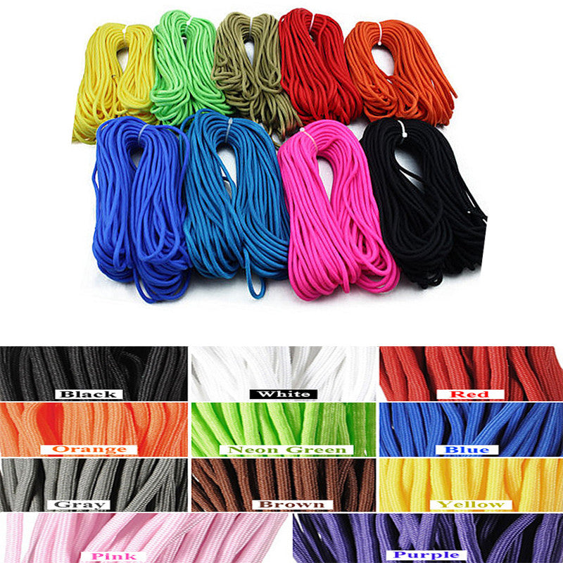 20 Foot Nylon Paracord Rope For Outdoor Survival.