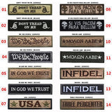 Military Embroidered Patches - 14 Slogans/Styles
