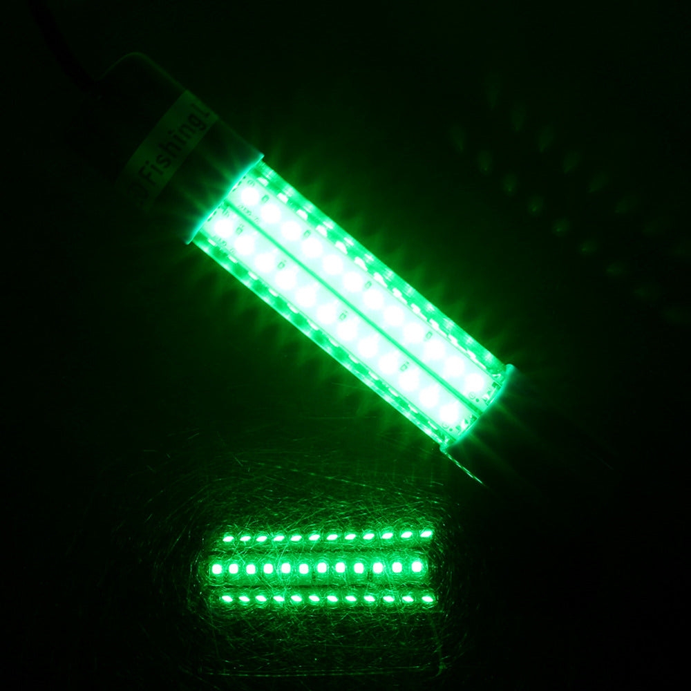 Neon Green Underwater LED Fishing Light