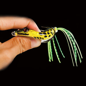 Frog Lure Fishing Lures Treble Hooks - 3 Colors