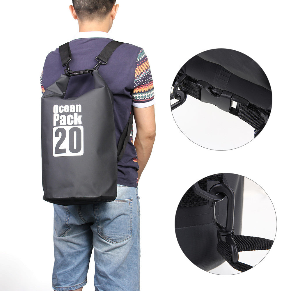 20L Dry Bag Canoe Waterproof Backpack.