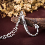 'The Hook' Necklace - A Fisherman
