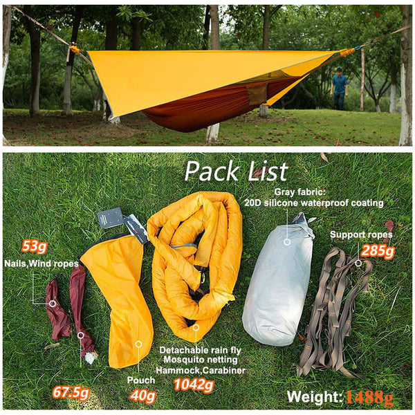 Hammock Tent for Camping.