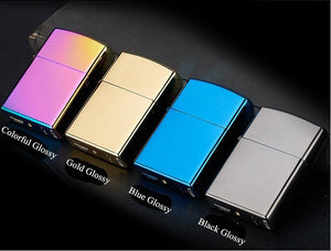 Windproof Rechargeable Flameless USB Lighters Multicolor.