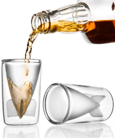 'DA' BOMB' Double Wall Shot Glass - FREE SHIPPING