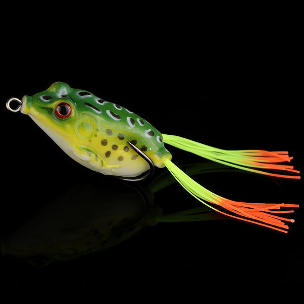 Soft Frog Fishing Lure Gift Boxset of 9 Lures