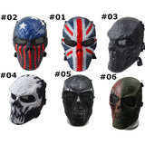 Tactical Paintball Airsoft Full Face Mask.