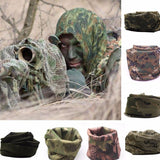 Military Style Shemagh Beathable Neck and Face Scarf - 8 Colors & Styles.