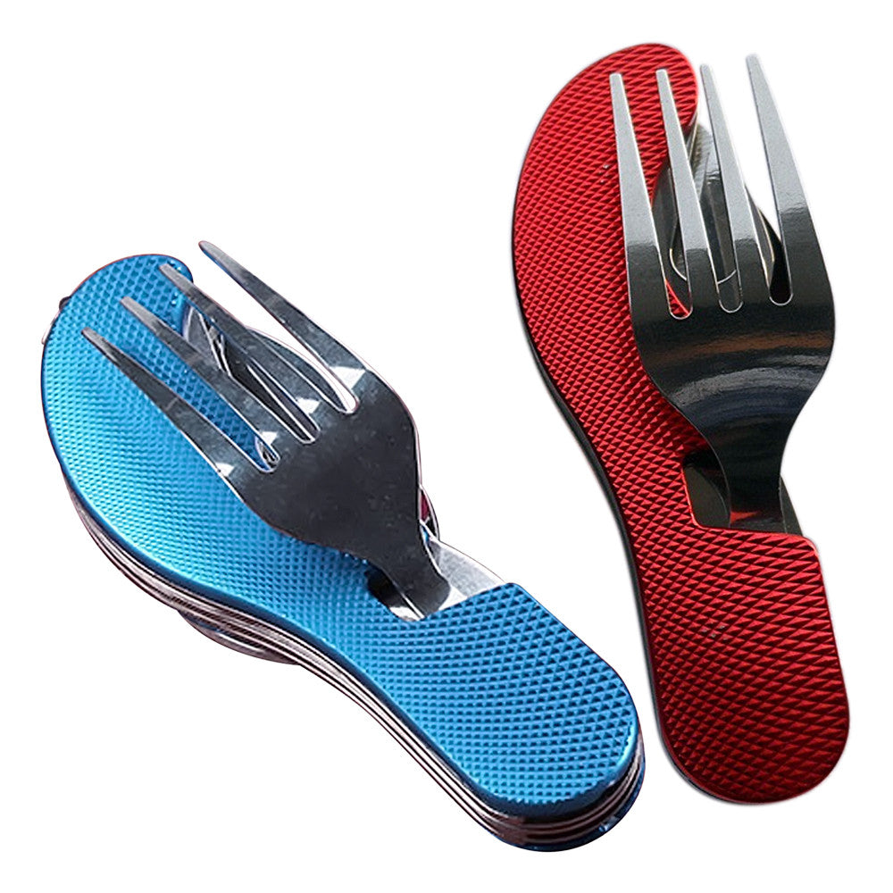 Foldable Utensils for Camping or Hiking. – Outpost City