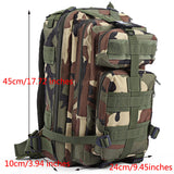 'MIDNIGHT' Military Style Men's Backpack - FIRE SALE!