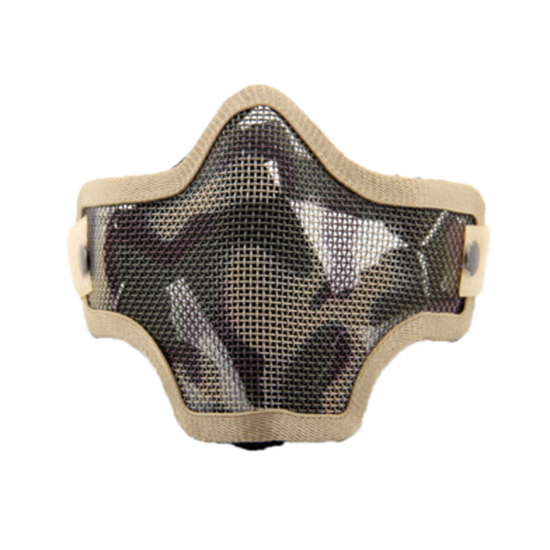 Airsoft Tactical Mesh Wire Half Face Mask - 3 Colors