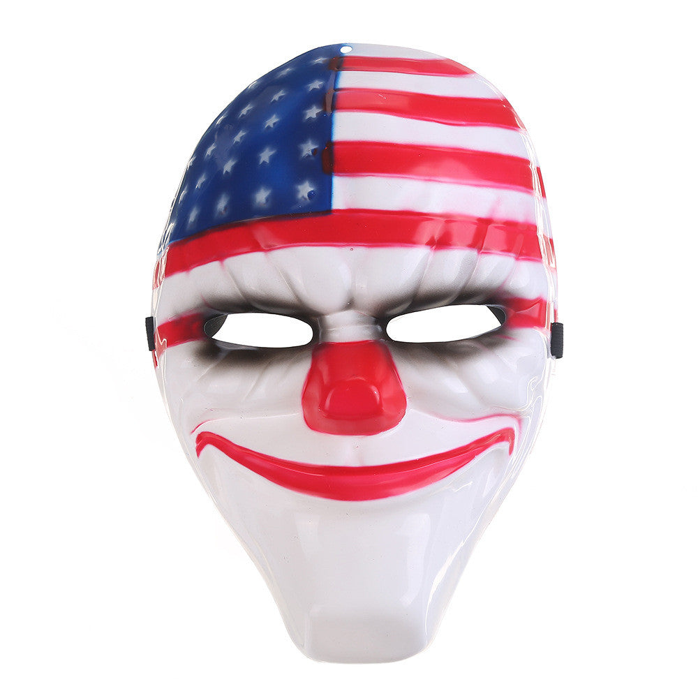 Payday 2 Clown Mask.