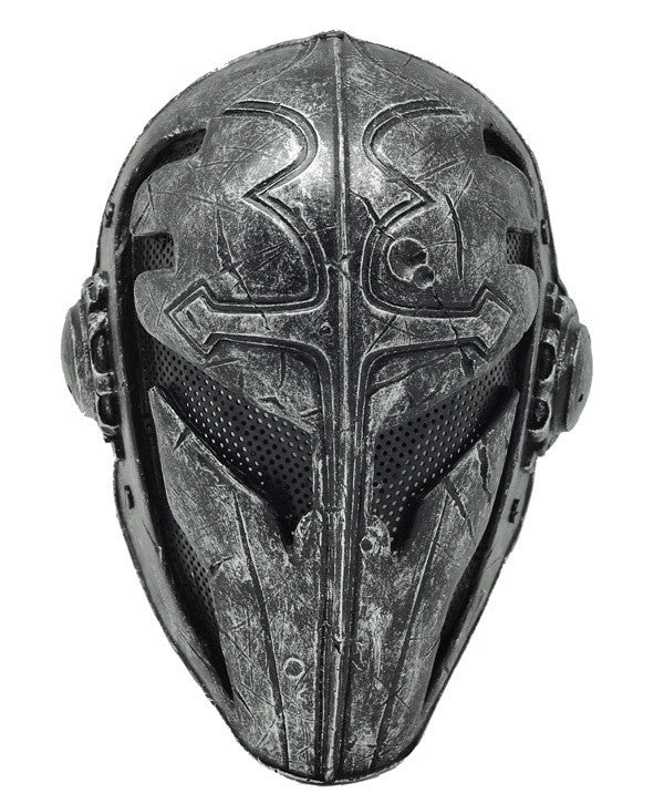 Black Templar Mask - Airsoft or Paintball.