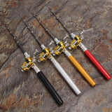 Pen Shaped Fishing Pole With Reel