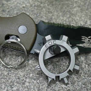 12 Function Screwdriver Key Ring.