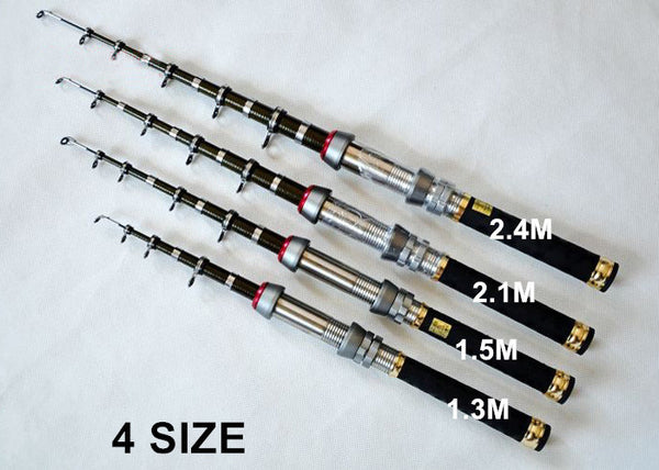 Telescopic Pocket Fishing Rod - LIMITED TIME.