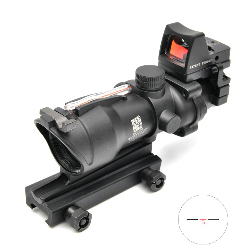 opc trijicon acog 4x32 illuminated scope with doctor sight outpost