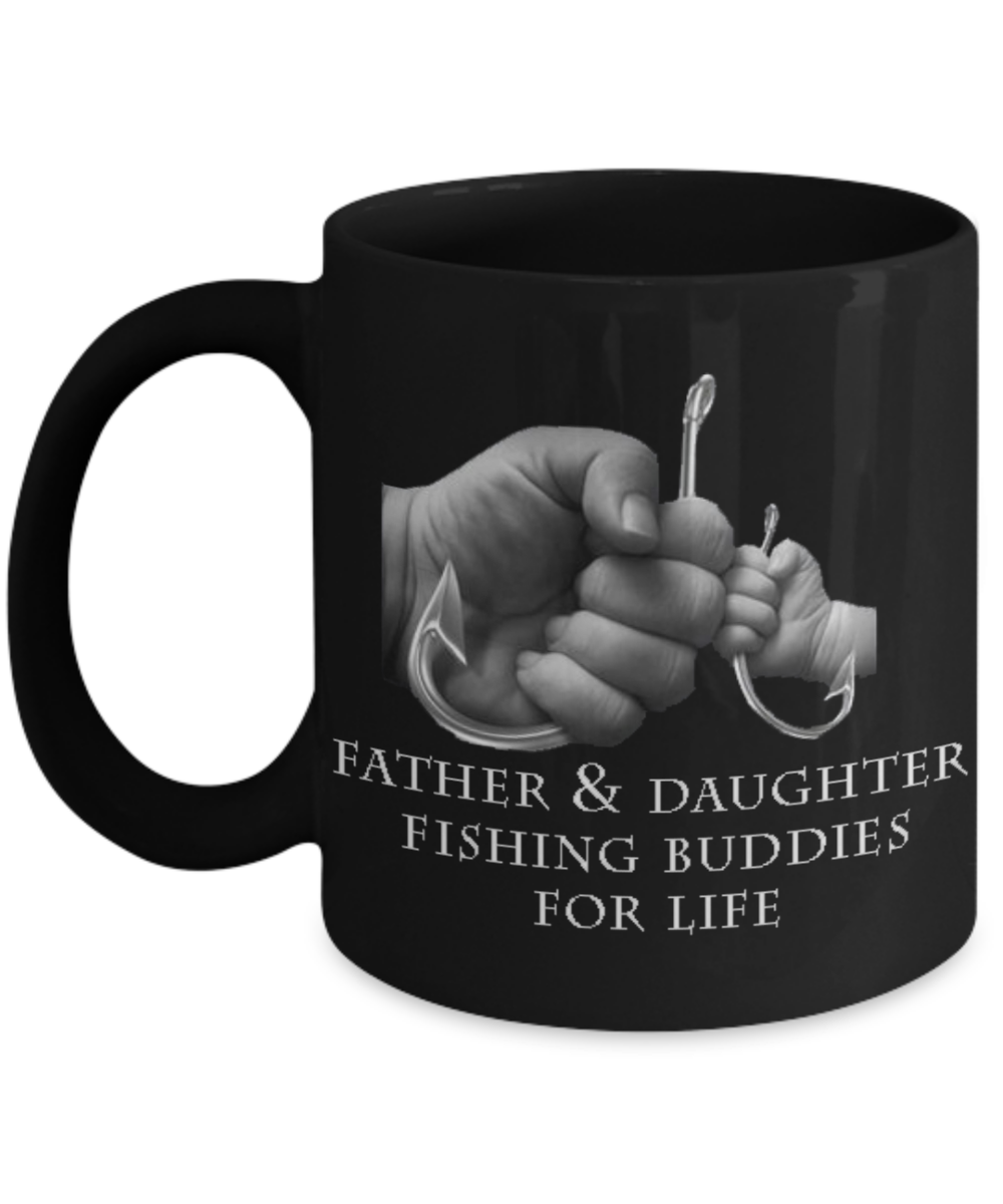 Fishing Buddies Mug - Father Daughter