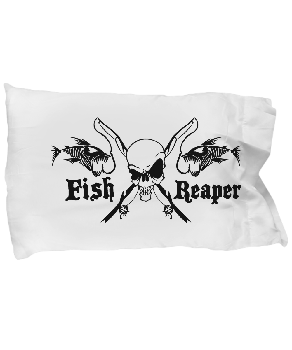 """I am the FISH REAPER 2"" Pillowcase"