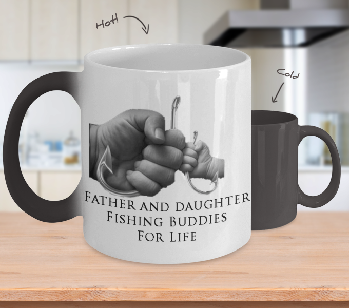 Fishing Buddies - Changing Color Mug