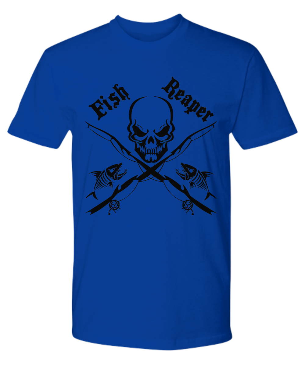 """I am the FISH REAPER"" Apparel"